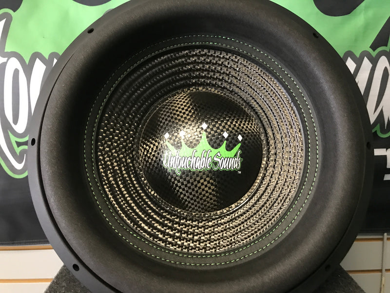 "Untouchable Sounds God Series 15"" 2000W Subwoofer"
