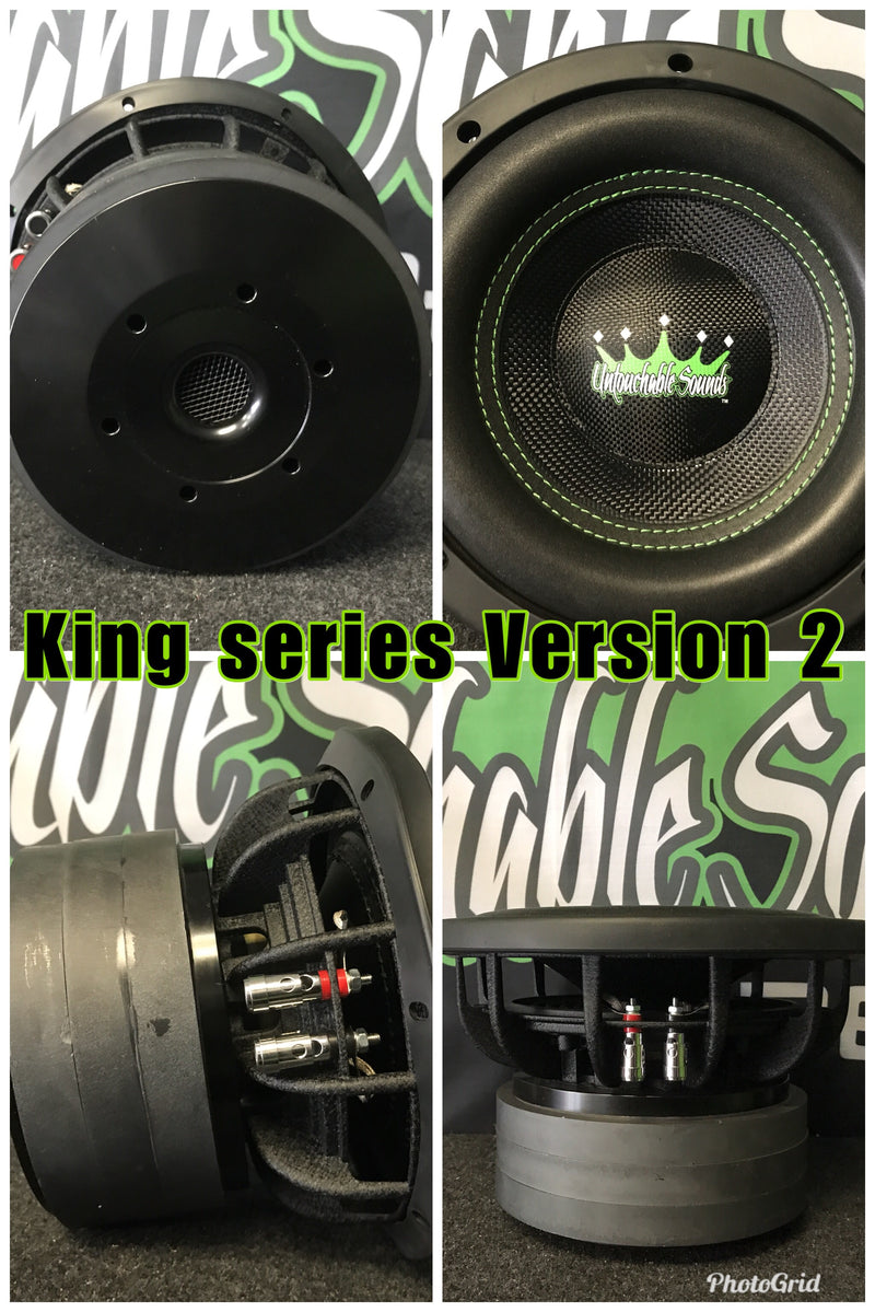 "Untouchable Sounds King Series 10"" 800w subwoofer"