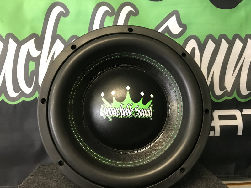 "Untouchable Sounds Prince Series 10"" 600W subwoofer"