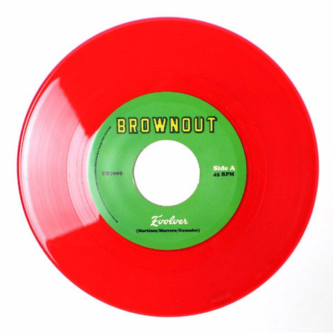 "Brownout Over The Covers Evolver/Things You Say - 7"", 45 RPM"