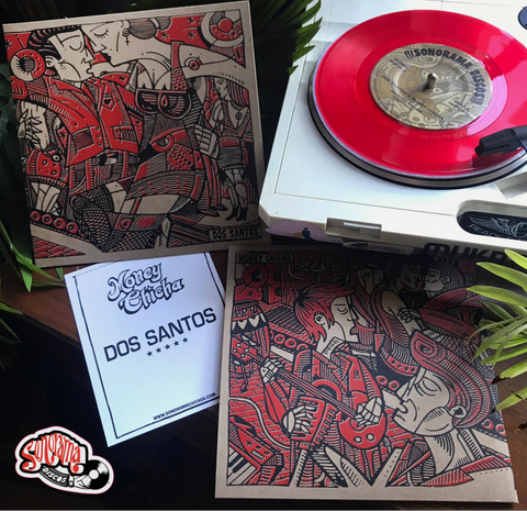 Sonorama Discos: Money Chicha | Dos Santos Split 7""