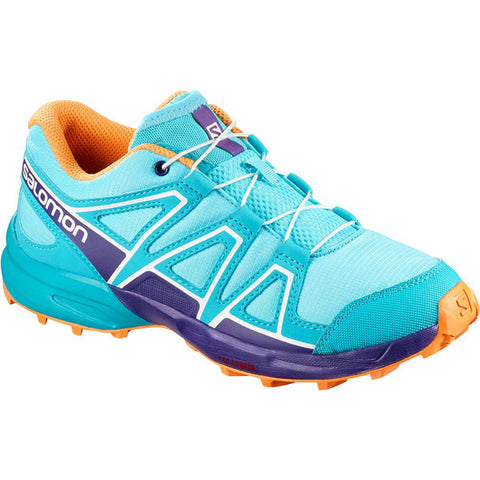 Salomon Speedcross JNR (Blue Curacao/Acai/Bird Of Paradise)