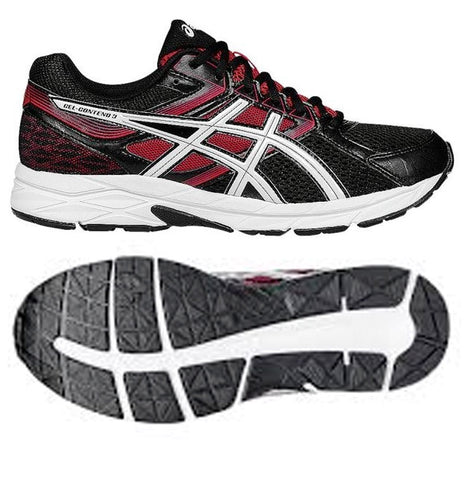 Asics Gel Contend Male (Onyx/Snow/Racing Red)