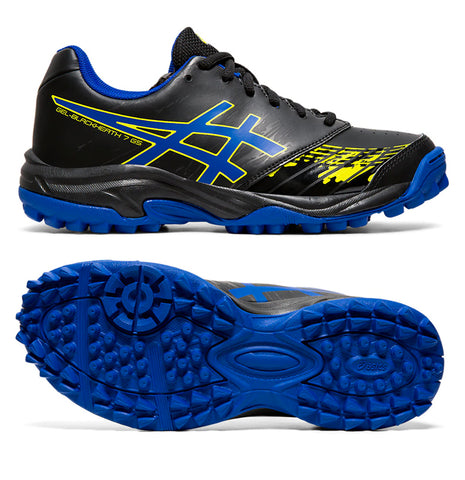Asics Blackheath 7 JNR (Black/Asics Blue)