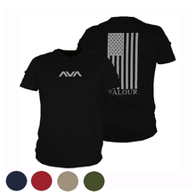 Load image into Gallery viewer, Vertical Valour Flag Tee - Men's