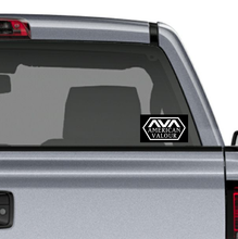 Load image into Gallery viewer, AVA Logo Emblem Sticker: Black Background