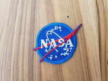 "VINTAGE STYLE - NASA ""Meatball"" Patch - SET OF 4"