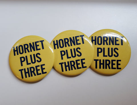"3 - Apollo 11 - ""HORNET PLUS THREE"" Pin Set"