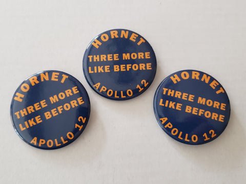 3 - Apollo 12 - USS HORNET Recovery Pin Set