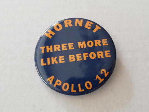 Apollo 12 - USS HORNET Recovery Pin