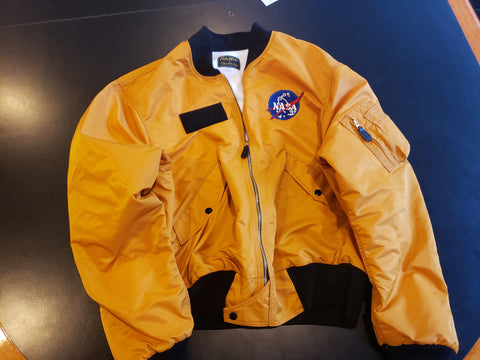 EMAIL SIGNUP: Flite Wear - Type 3 Gold - Winter Flight Jacket
