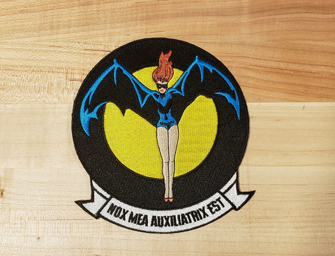 USN Night Fighter Squadron VC3 Patch - Nox Mea Auxiliatrix Est