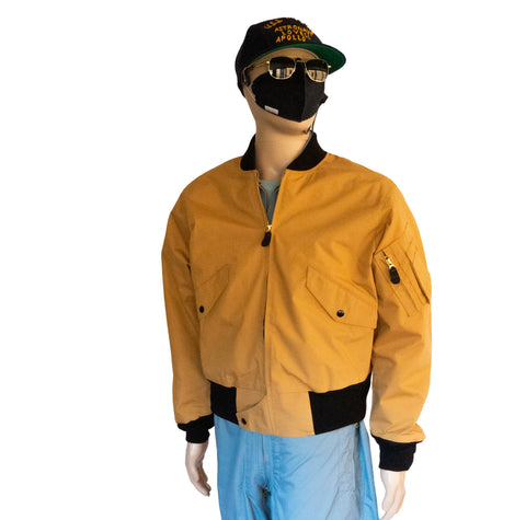 Flite Wear - Type 3 - Gold NASA Flight Jacket - NO PATCH