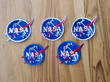 "VINTAGE STYLE - NASA ""Meatball"" Patch - SET OF 5"
