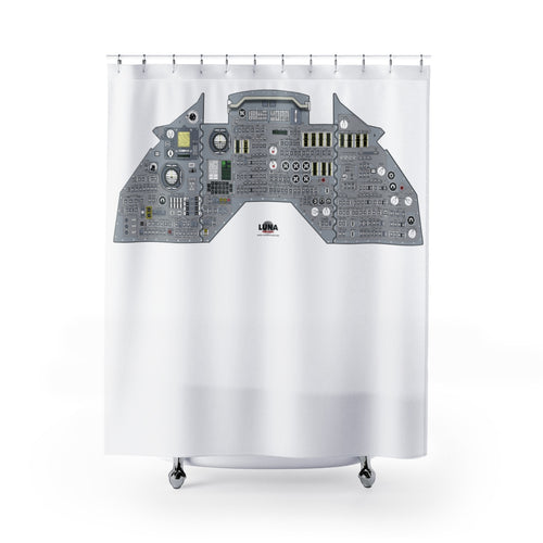 APOLLO 11 SPECIAL - Command Module Main Panel Shower Curtain