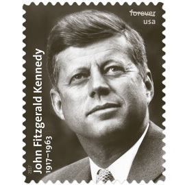 President John Fitzgerald Kennedy Stamps
