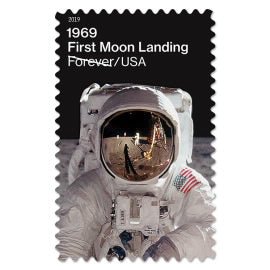 1969: First Moon Landing Stamps