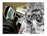 "AO ""Original Pilot"" Sunglasses and Apollo Case SET"