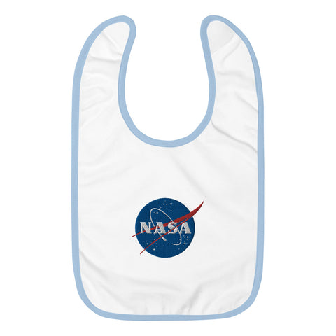 Embroidered NASA Meatball Bib