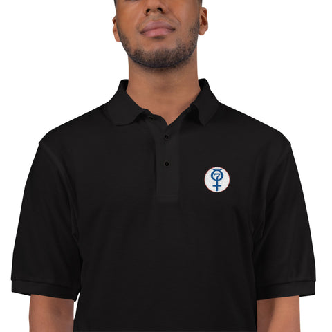 Project Mercury Logo Embroidered Polo Shirt