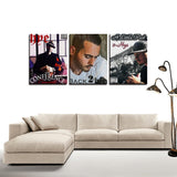 Triple Album Canvas Wall Art