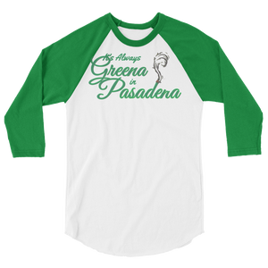 baseball Tee: Greena in Dena
