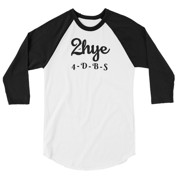 Baseball Tee: 2-Hye Entertainment