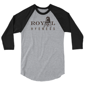 Baseball Tee: Royal Hyeness