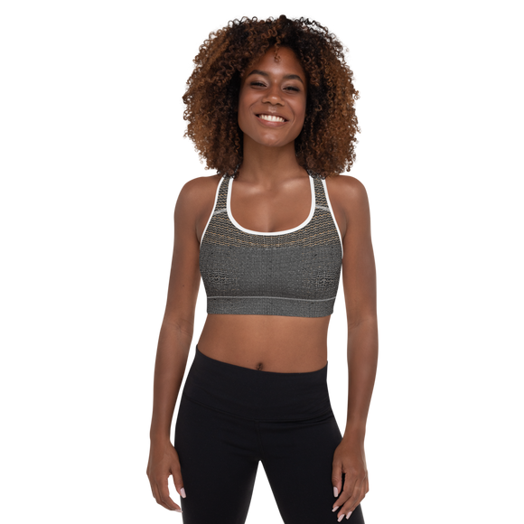 Padded Sports Bra: Curves like the Coast Collection