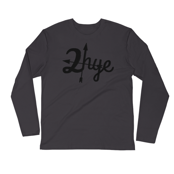 2-hye - Premium Fitted Long Sleeve: 2-Hye - 2-Hye - Long-sleeve
