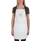 2-hye - In 2-Hye's Kitchen Embroidered Apron - 2-Hye - Accessories