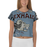 Crop Top: Inhale/Exhale