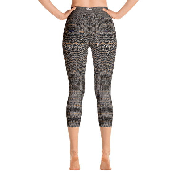 2-hye - Capri Leggings: Curves like the Coast - 2-Hye - leggings