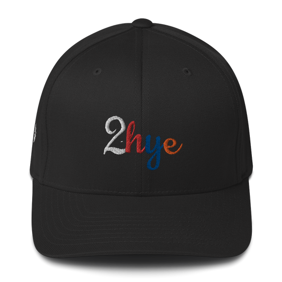 Flex-Fitted Cap: 2-Hye