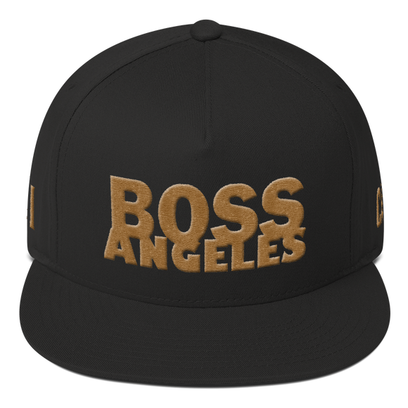 Hat: Boss Angeles Snap-Back