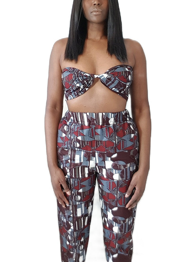 Zeena Printed Trousers