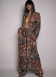 Bethia Kimono Dress Long Sleeve
