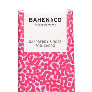 Bahen & Co. Chocolate Raspberry & Rose