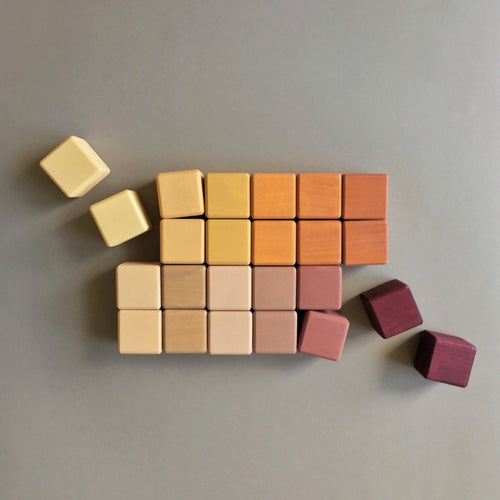 Eco Toy Blocks - MARSALA
