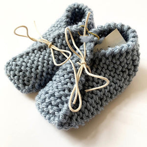 Knitted by Nana Booties