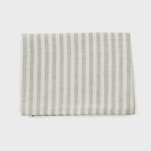 Chambray linen Kitchen cloths by Fog Linen - classic coloured, these long-lasting kitchen towels will only get softer and more absorbent with each wash. A nifty cotton loop allows for easy hang-dry.