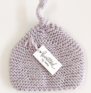 Pale Lavender Baby Beanie 0-6 Months