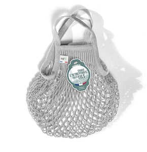 Small French Market Bag - Grey