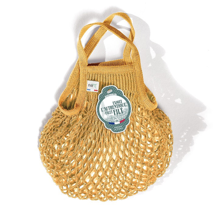 Small French Market Bag - Mustard