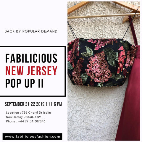 Fabilicious New Jersey Pop Up II