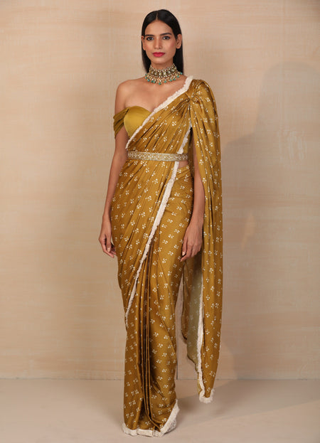 Summer Blossom Saree