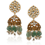 Sea Green Necklace Set Necklace Set Riana by Shikha Jindal