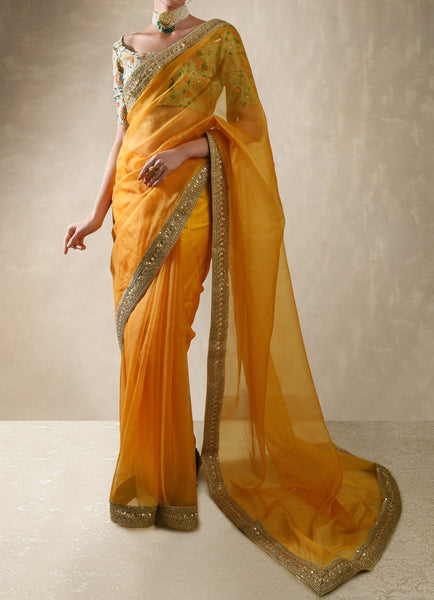Sunflower Saree Set Saree Renee