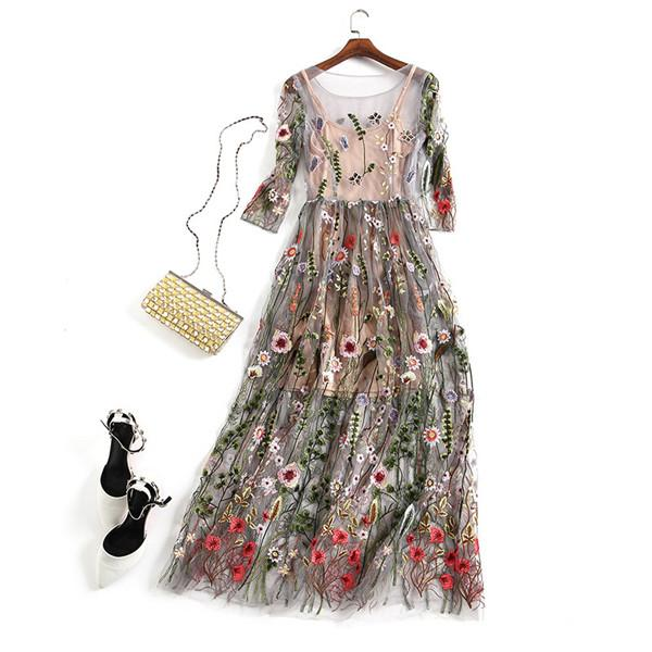 New Arrival Party Embroidery Dresses For Women