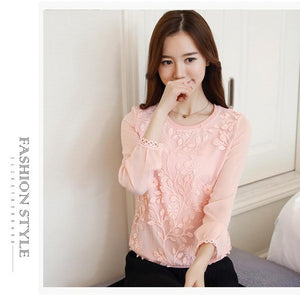New Embroidery Blouse Shirt For Women